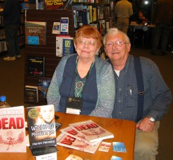 Marilyn and Hap, Barnes and Noble, Virginia Beach VA